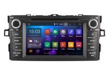 Android 7.1.1 2 GB ram voiture dvd lecteur Audio POUR TOYOTA AURIS 2007-2011 auto headunit dispositif autoradio stéréo 3G BT NAVI GPS
