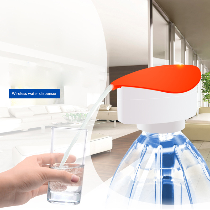 Mini Water Dispenser Electric Water Bottle Pump Dispenser Drinking Water Bottles Faucet Drink Dispensador De Agua magic tap electric automatic water drink beverage dispenser