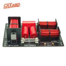 GHXAMP 400 wát 2 Cách Loa Chéo 2800 hz Đôi treble + bass sừng divider Loa Hai cách chia KTV treble 4 8 ohm 1 cái