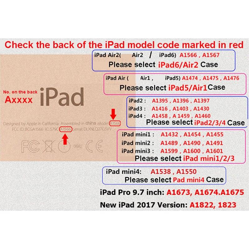 Lüks PU iş stil planşetləri Fundas Apple iPad Mini 2 3 4 üçün - Planşet aksesuarları - Fotoqrafiya 4