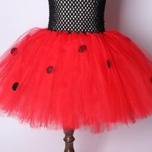 Dots Flower Ladybug Girls Tutu Dress