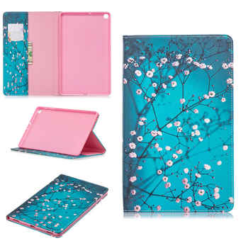 Case For Samsung Galaxy Tab A 10.1 2019 T510 T515 SM-T510 SM-T515 Cover Funda Tablet Fashion painted Stand Shell +Film+Pen
