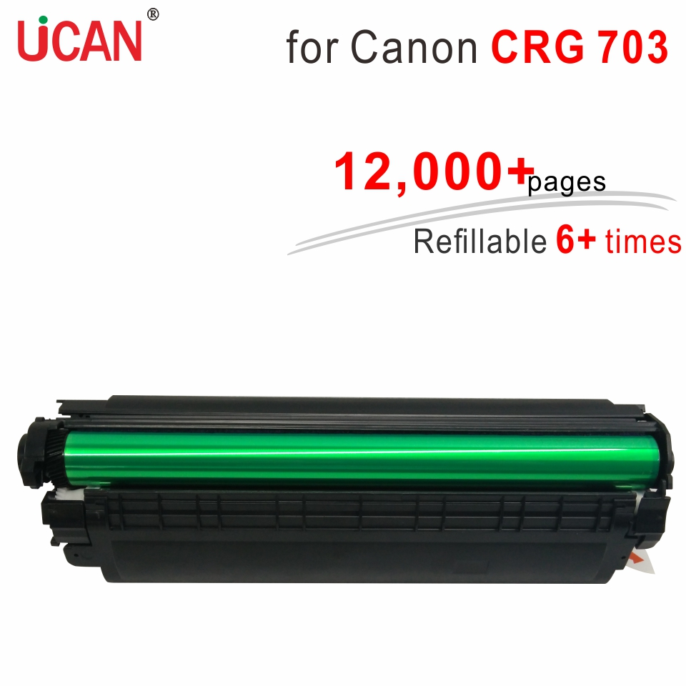 Cartridge 103 303 703 for Canon LBP2900 LBP2900B LBP3000 LBP 2900 2900B 3000 Printer UCAN 6 times Super Durable Toner for canon d570 printer cartridge 737 337 137 ucan 737ar kit 12 000 pages