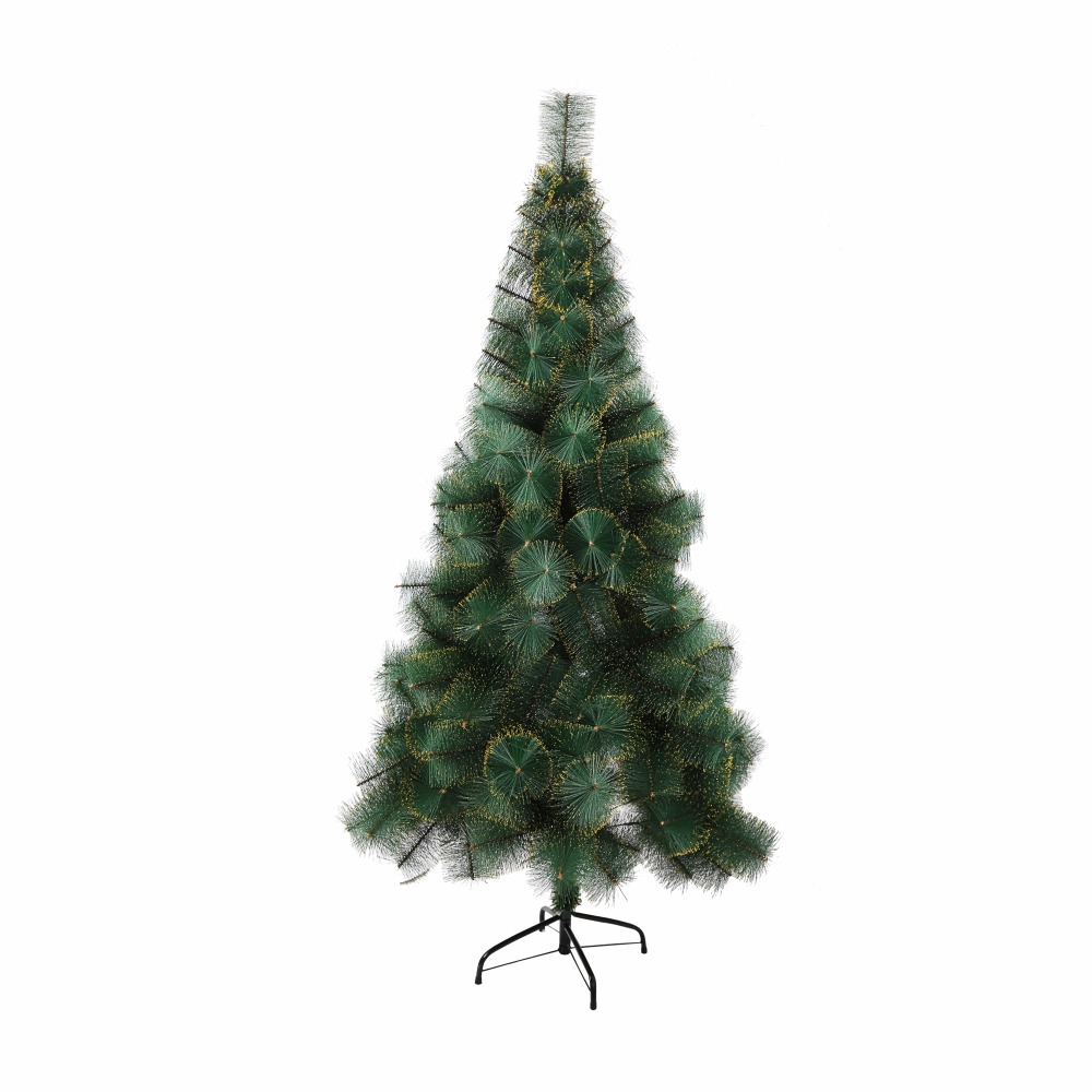 182124m tall artificial christmas tree decoration pet gold dot pine needles tree in trees from home garden on aliexpresscom alibaba group