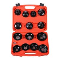 14 Pcs Cup Type Oil Filter Socket Set car repair tool Oil filter disassembly tool cap machine filter wrench