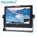 """FW1018SP 10.1 """"IPS Monitor de Campo com Peaking Foco Cor Cores Falsas Histograma Exposição 3G-SDI HDMI Feelworld Câmera Monitores"""