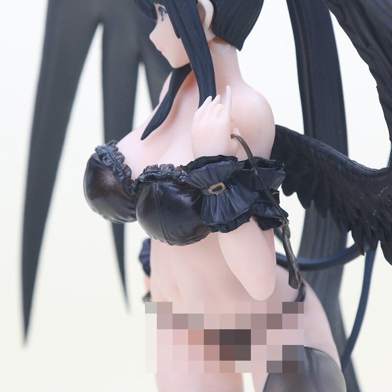 30cm Cast Off High School DxD Himejima Akeno Akeno Himejima 1 7 Scale PVC Figure Soft