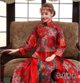 Chinese traditional women clothing Dragon and phoenix gown