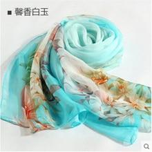 100% silk scarf high quality silk shawl  Women scarf shawl  womens fashion scarves  sillk women thin long scarf shawl-b153
