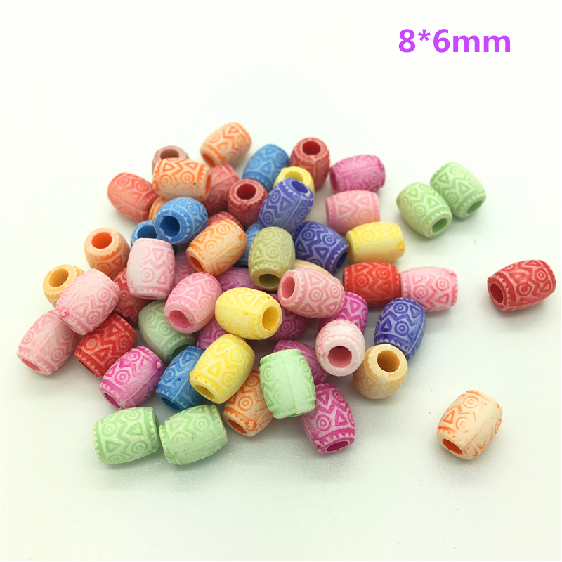 50 шт разноцветные акриловые бусины с перфорацией DIY серьги для изготовления ювелирных изделий ожерелье браслет аксессуары
