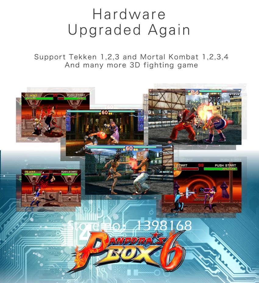 Pandora's box 6 HD 1300 in 1 Jamma Multi Arcade Board support CGA / VGA /  HDMI Pandora 4 HD for Video