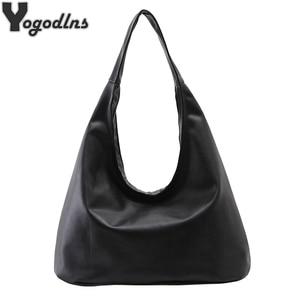 2020 Fashion Female Bag Ladies Soft PU Leather Bag Dumpling Shape Handbag Vintage Messenger Bag Large Capacity Shoulder Bag