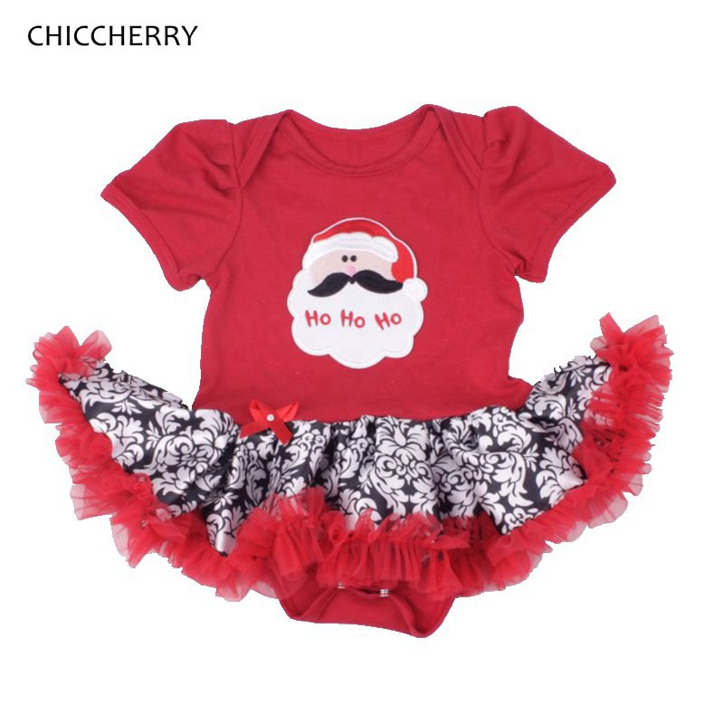 Red Christmas Santa Claus Costume Baby Overalls Lace Romper Girl Childhood Fantasies Body Bebe Jumpsuit Infant Christmas Dresses christmas gift 2016 hot baby jumpsuit santa claus clothes kids overalls newborn boys girls romper children costume
