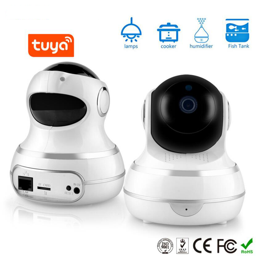 Smart WIFI Camera IP Cam Webcam Camcorder 360 Angle WIFI Wireless Night Vision AI Enhanced Motion