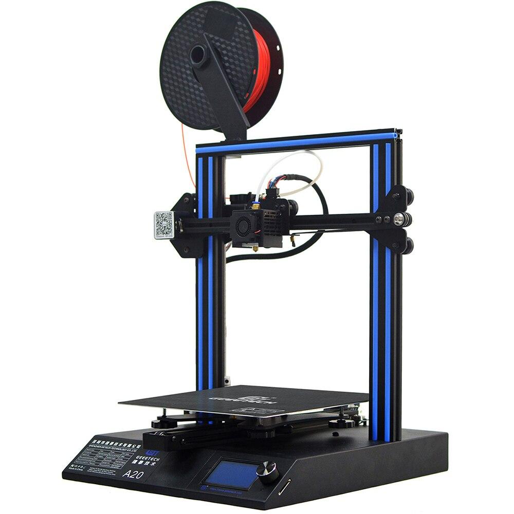Geeetech A20 3D Drucker mit 255 × 255 × 255mm Bauen Volumen und Brechen-fortsetzen Fähigkeit, schnelle Montage DIY kit