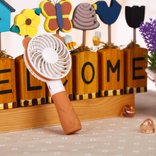 2016 Summer office and outdoor portable mini cartoon fan compact lovely delicate durable