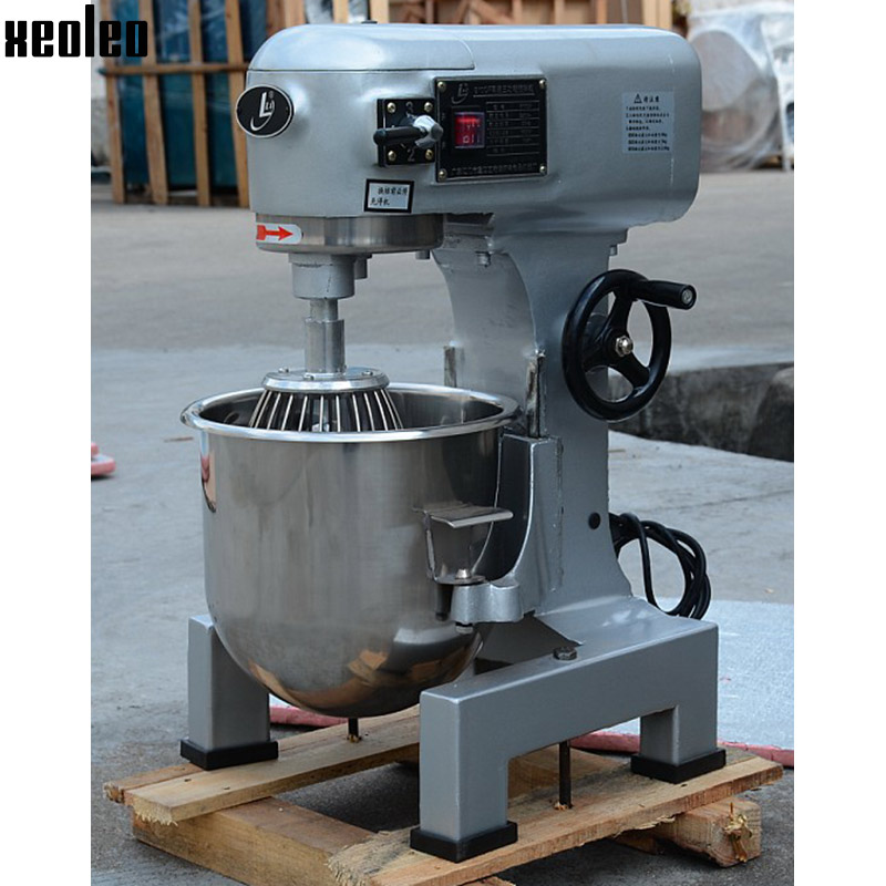 Xeoleo 10L Food mixer Commercial Dough Kneading machine 3 function  Food blender 600W Egg beater Cream Mixer machine 220V 7l high quality commercial planetary mixer food stand mixer egg beater dough mixer
