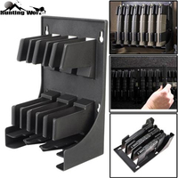 Tactical AR 15 5.56 .223 Caliber Mags MAG Pouch Rack Magazine Storage Holder for 30 Round AR15 Airsoft Hunting Caza