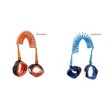 New 1Pc 1.5M Plastic Toddler Kids Baby Safety Harness Hand Belt Anti Lost Walking Strap Wrist Leash