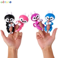 Tech Interactive Baby Finger Tip Squirrel Electronic Touch Motion Kids Pet Toy