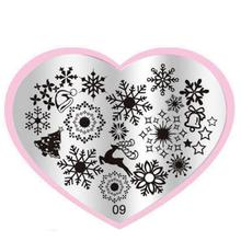 DIY Nail Art Image Stamp Штамповка Плиты Маникюр Шаблон Лак Для Ногтей Штамповки Инструмент jan9