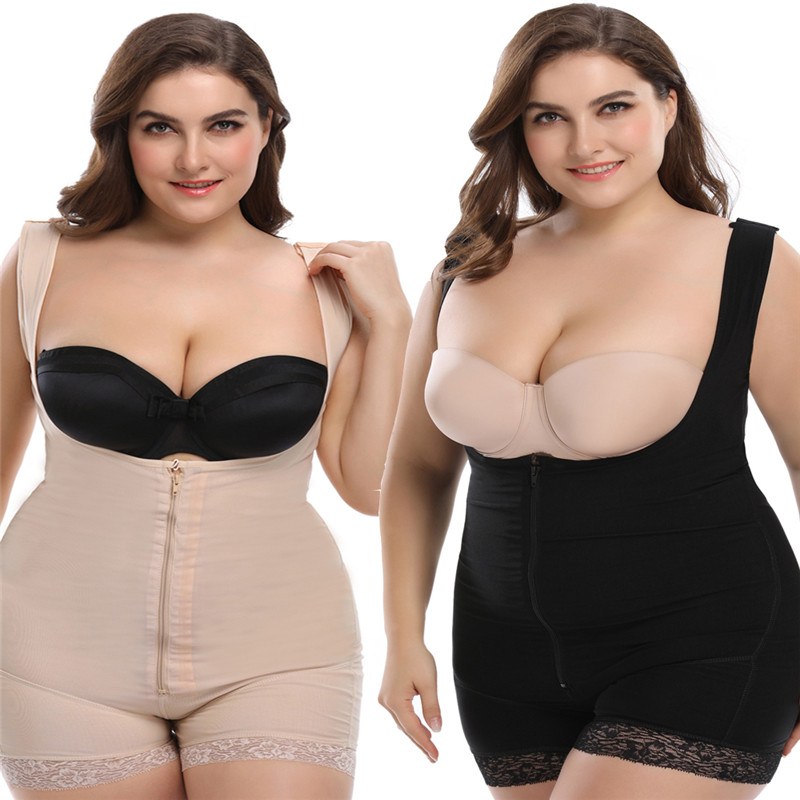 Butt Lift Engen Sculpting Body Shaper Fett Control Shapewear Full Body Bodys Frauen Sexy Unterwäsche Abnehmen Shapewear Damen-dessous Bodys