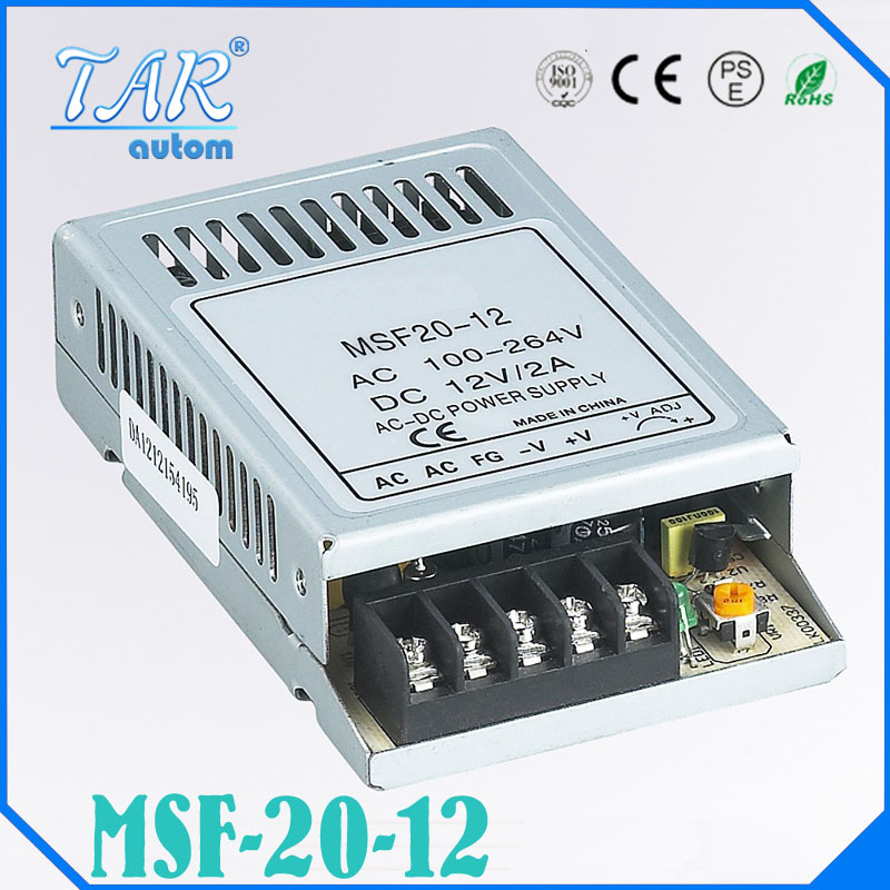 все цены на  20W 12V Ultra thin Single Output Switching power supply for LED Strip light transformer 12v free shipping china post  онлайн