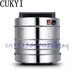 CUKYI 360W 3 warstwy Mini suszenie maszyna do owoców urządzenie do odwadniania domowego mięso warzywne dryerThree warstwy ze stali nierdzewnej w Dehydratory od AGD na
