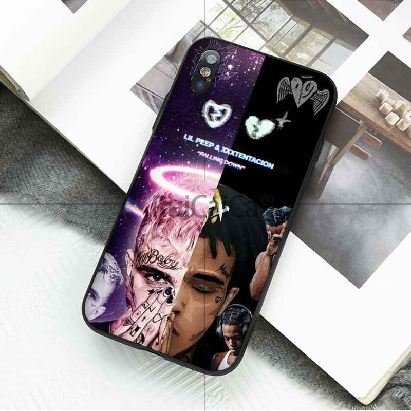 Ruicaica xxxtentacion Рэппер роспись красивые аксессуары для телефонов Чехол Apple iPhone 8 7 6 6 S плюс X XS MAX 5 5S SE XR крышка