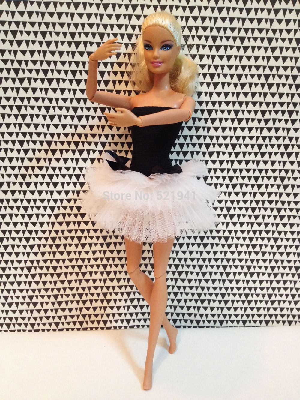 Doll Dancing Dress Ballet Skirt Fashion Doll Clothes Accessories For Barbie Doll,girls Toys For Children DIY GIFT