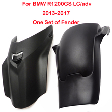 Motorcycle fender One Set For BMW R1200GS LC adv R1200 GS R 1200GS 2013-2017 Mudguard extension Splash Guard Tire Hugger Parts