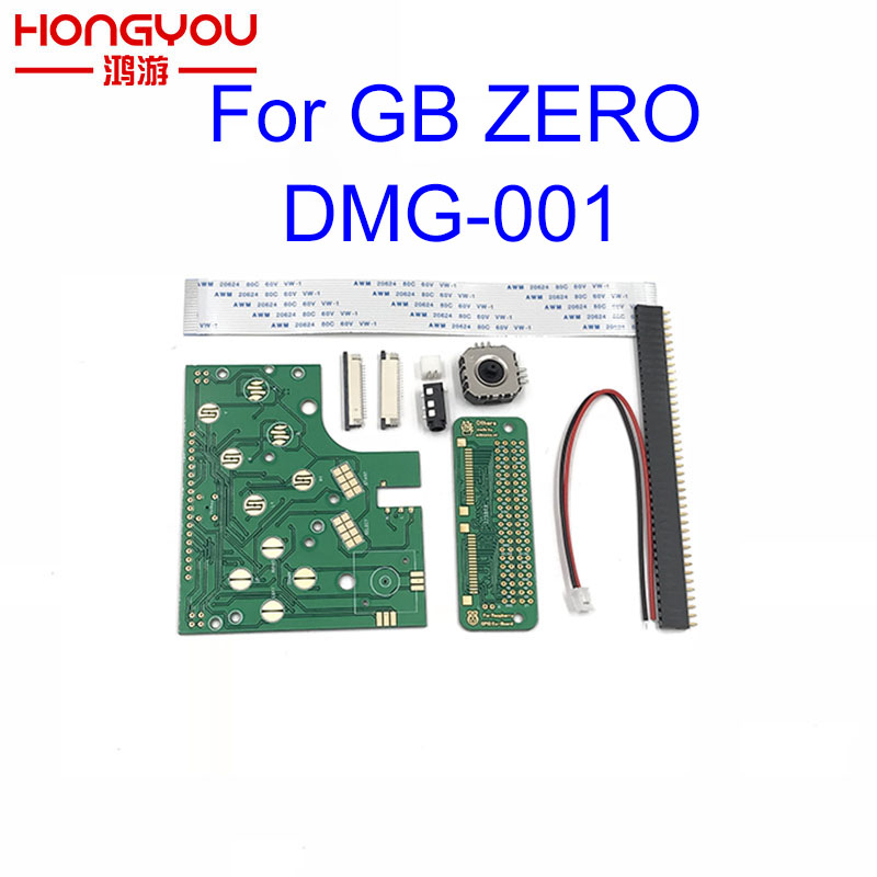 DIY 6 Buttons PCB Board Switch Wire Connector Kit For Raspberry Pi GBZ For Game Boy GB Zero DMG-001 pcb 001