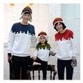 Моды Семьи Сопоставления Одежда Рождественская Елка Подарок футболки одежда на рождество 2016 Новый Стиль Одежды Бесплатная Доставка