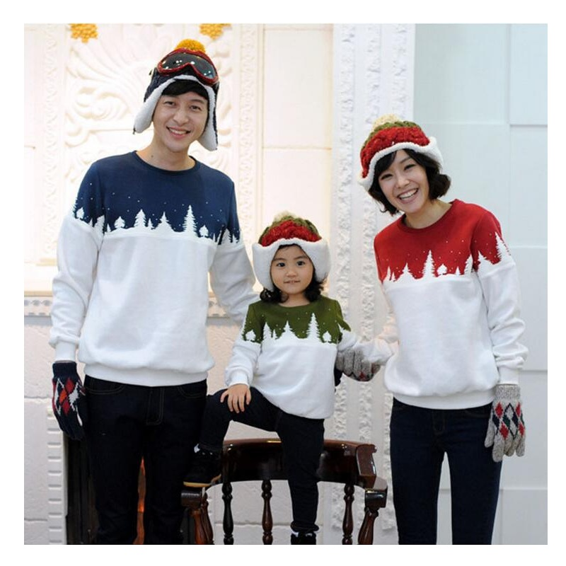family matching clothing christmas tree present t shirts