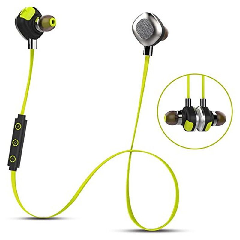 U5 PLUS Waterproof Magnetic Wireless Bluetooth Sport Headphones with Microphone Waterproof Earphone for Swimming Running morul u5 plus wireless bluetooth earbud earphone bt 4 1 waterproof