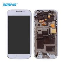 AAA Blanco Azul para Samsung Galaxy S4 Mini i9195 i9190 Pantalla LCD de Pantalla Táctil Digitalizador Asamblea + Bisel Marco, Prueba uno por uno