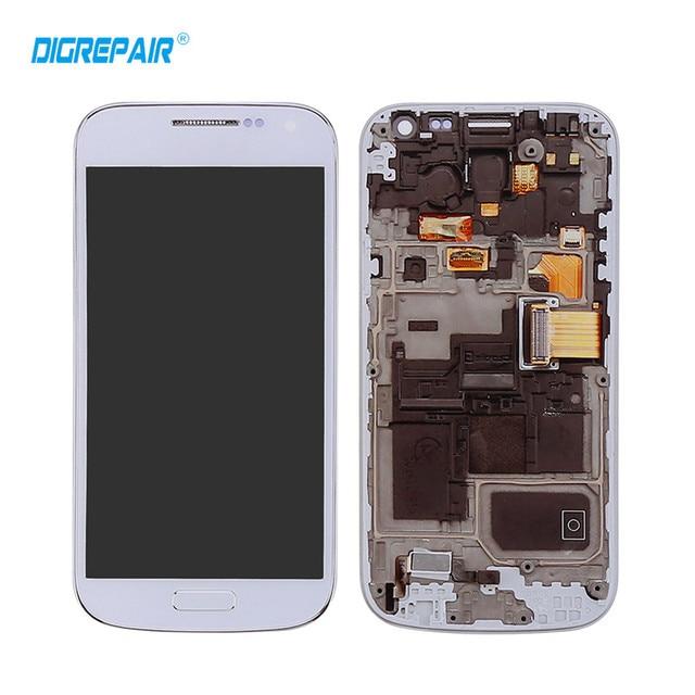 9c819be7eb6 AAA blanco azul para Samsung Galaxy S4 Mini i9195 i9190 pantalla LCD de  pantalla táctil digitalizador