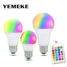 E27 RGB Led Lamp 5W 10W 15W Colorful RGB Led