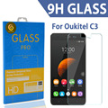 TOMORAL Ultra-thin Scratch-proof Tempered Glass Film Screen Protector For Oukitel C3 5.0 Inch MTK6580 Quad Core Android Phone