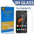 Tomoral ultra-delgada resistente a los arañazos protector de pantalla de cristal templado de cine para oukitel c3 5.0 pulgadas mtk6580 quad core teléfono android