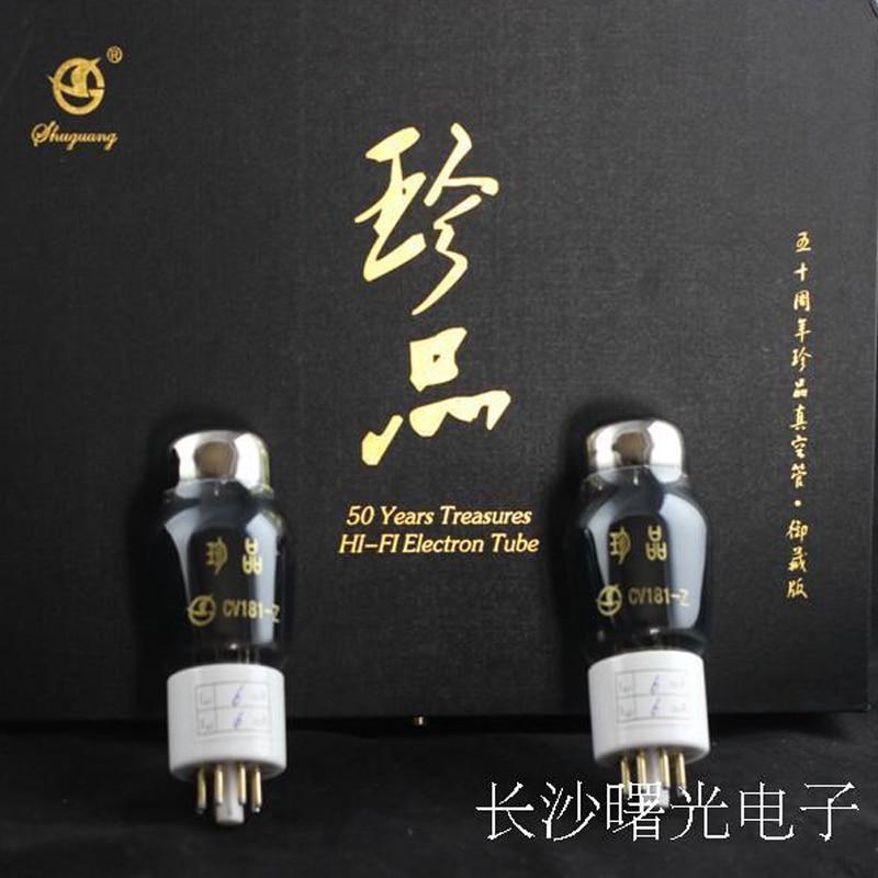 Matched Pair Audio Valve 2pcs PSVANE Audiophile Vacuum Tube 6SN7 6N8P CV181