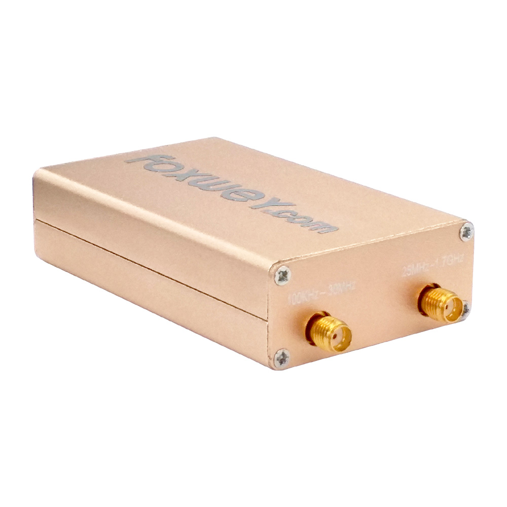 New RTL SDR RTL2832U R820T2 HF TXCO SMA in SDR#, HDSDR, GQRX or SDR Touch  on Android, Windows, MacOS, Linux, Raspberry Pi