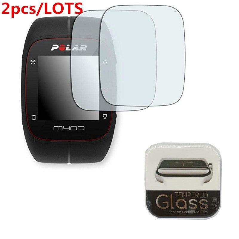 2 Stücke Für Polar M400/m430 Gehärtetem Glas 9 H 2.5d Premium Screen Protector Film Smartwatch Intelligente Elektronik Unterhaltungselektronik