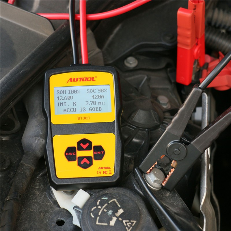 автомобильный аккумулятор анализатор купить в Китае