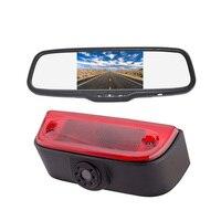 Vardsafe 200C | стоп сигнал заднего вида резервного копирования Камера + 5 дюймов зажим зеркало монитор для Nissan NV200/Evalia/Chevy City Express