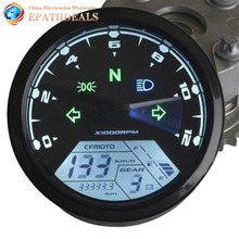 12000RMP LCD Digital Motorcycle Speedometer Tachometer Odometer Guage 1 4 Cylinders Motorbike Parts Accessories