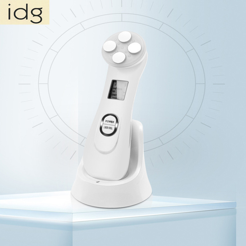 2PCS/lot Skin Care Device Face Lifting TightenSkin Massager Mesotherapy Electroporation RF Radio Frequency Facial LED Photon kingdom kd 9900 ems rf electroporation beauty device