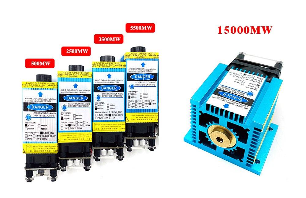 CNC Laser Engraving Machine 2500mW 3500mW 5500mw 15000mw Laser Module 4