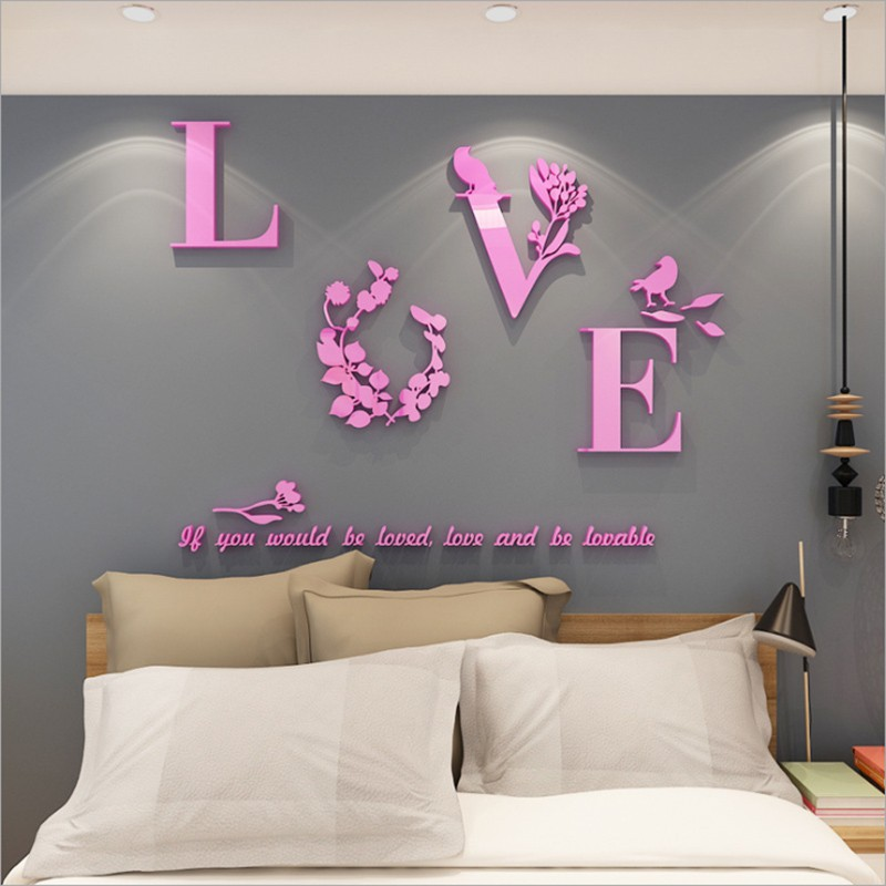 Self-adhesive Acrylic Solid Wall Papers  Mirror Decoration Sticker Shape According To Your Own Preferences