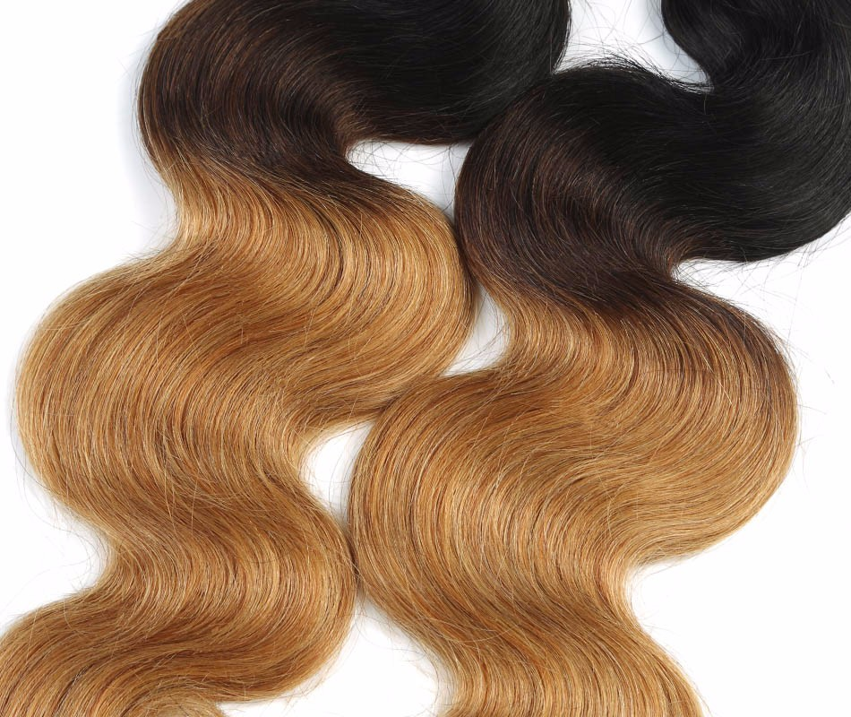 Brazilian ombre human hair extensions